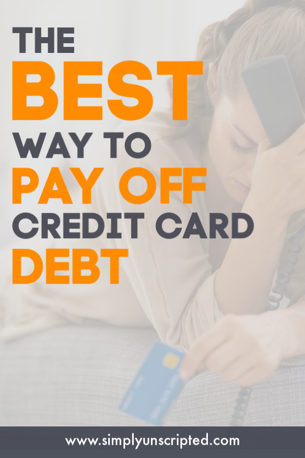 The debt snowball method is the best way to pay off credit cards. Learn how to use this strategy to get out of debt.